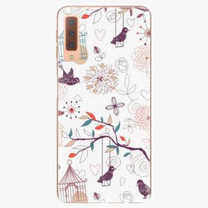 Plastový kryt iSaprio - Birds - Samsung Galaxy A7 (2018)