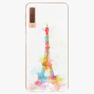 Plastový kryt iSaprio - Eiffel Tower - Samsung Galaxy A7 (2018)