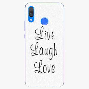 Plastový kryt iSaprio - Live Laugh Love - Huawei Y9 2019