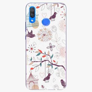 Plastový kryt iSaprio - Birds - Huawei Y9 2019