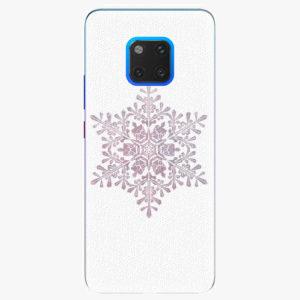 Plastový kryt iSaprio - Snow Flake - Huawei Mate 20 Pro