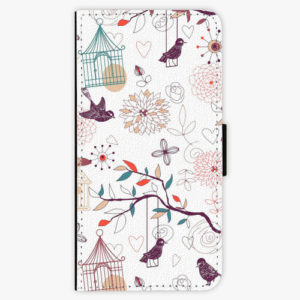 Flipové pouzdro iSaprio - Birds - iPhone XS