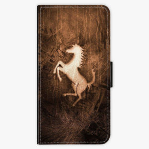 Flipové pouzdro iSaprio - Vintage Horse - iPhone XS
