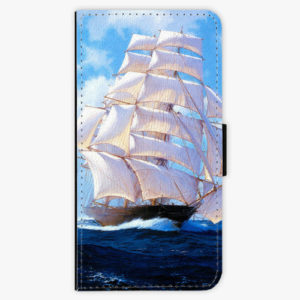 Flipové pouzdro iSaprio - Sailing Boat - iPhone XS Max