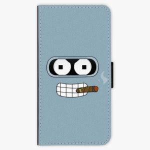 Flipové pouzdro iSaprio - Bender - iPhone XR