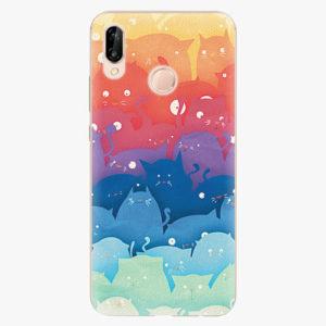 Plastový kryt iSaprio - Cats World - Huawei P20 Lite