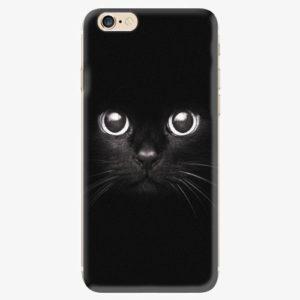 Silikonové pouzdro iSaprio - Black Cat - iPhone 6/6S