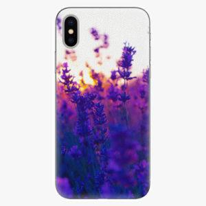 Silikonové pouzdro iSaprio - Lavender Field - iPhone X