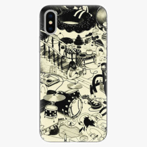 Silikonové pouzdro iSaprio - Underground - iPhone X