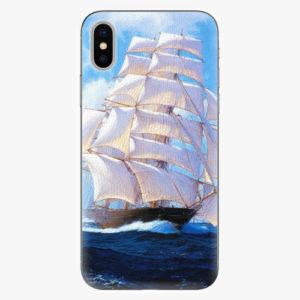 Silikonové pouzdro iSaprio - Sailing Boat - iPhone X