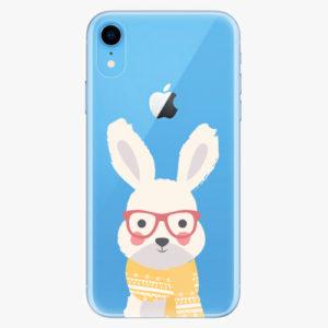 Silikonové pouzdro iSaprio - Smart Rabbit - iPhone XR