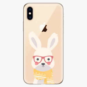 Silikonové pouzdro iSaprio - Smart Rabbit - iPhone XS