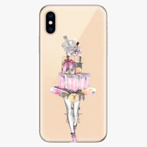 Silikonové pouzdro iSaprio - Queen of Shopping - iPhone XS
