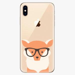Silikonové pouzdro iSaprio - Orange Fox - iPhone XS Max