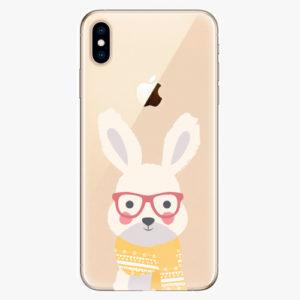 Silikonové pouzdro iSaprio - Smart Rabbit - iPhone XS Max