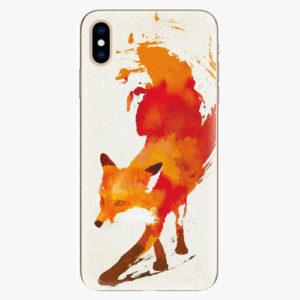 Silikonové pouzdro iSaprio - Fast Fox - iPhone XS Max