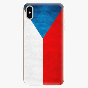 Silikonové pouzdro iSaprio - Czech Flag - iPhone XS Max