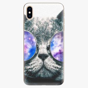 Silikonové pouzdro iSaprio - Galaxy Cat - iPhone XS Max
