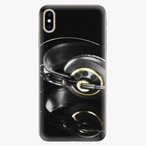 Silikonové pouzdro iSaprio - Headphones 02 - iPhone XS Max