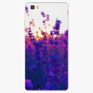 Silikonové pouzdro iSaprio - Lavender Field - Huawei Ascend P8 Lite