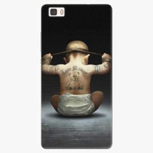 Silikonové pouzdro iSaprio - Crazy Baby - Huawei Ascend P8 Lite