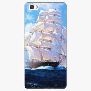 Silikonové pouzdro iSaprio - Sailing Boat - Huawei Ascend P8 Lite