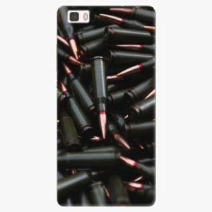 Silikonové pouzdro iSaprio - Black Bullet - Huawei Ascend P8 Lite