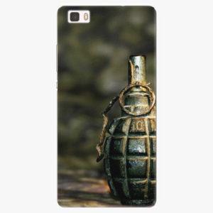 Silikonové pouzdro iSaprio - Grenade - Huawei Ascend P8 Lite