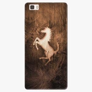 Silikonové pouzdro iSaprio - Vintage Horse - Huawei Ascend P8 Lite