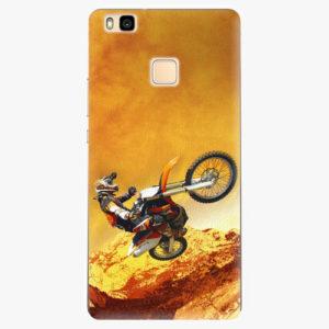 Silikonové pouzdro iSaprio - Motocross - Huawei Ascend P9 Lite