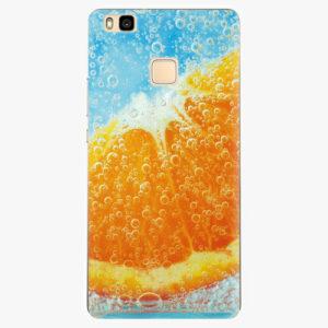 Silikonové pouzdro iSaprio - Orange Water - Huawei Ascend P9 Lite