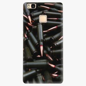 Silikonové pouzdro iSaprio - Black Bullet - Huawei Ascend P9 Lite