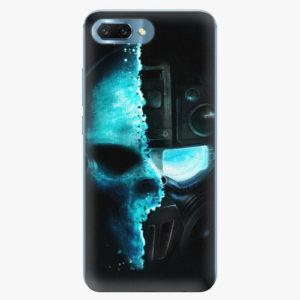 Silikonové pouzdro iSaprio - Roboskull - Huawei Honor 10