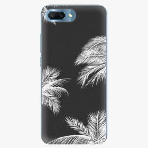 Silikonové pouzdro iSaprio - White Palm - Huawei Honor 10