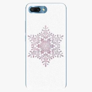 Silikonové pouzdro iSaprio - Snow Flake - Huawei Honor 10