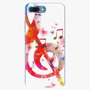 Silikonové pouzdro iSaprio - Love Music - Huawei Honor 10