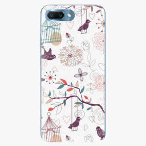 Silikonové pouzdro iSaprio - Birds - Huawei Honor 10