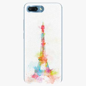 Silikonové pouzdro iSaprio - Eiffel Tower - Huawei Honor 10