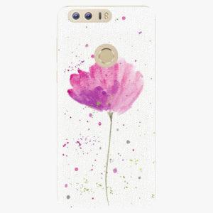 Silikonové pouzdro iSaprio - Poppies - Huawei Honor 8