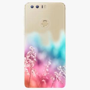 Silikonové pouzdro iSaprio - Rainbow Grass - Huawei Honor 8