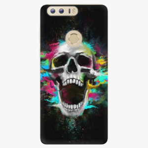 Silikonové pouzdro iSaprio - Skull in Colors - Huawei Honor 8