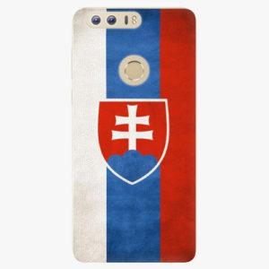 Silikonové pouzdro iSaprio - Slovakia Flag - Huawei Honor 8