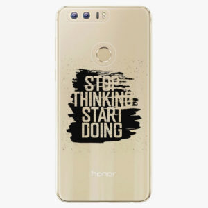 Silikonové pouzdro iSaprio - Start Doing - Huawei Honor 8