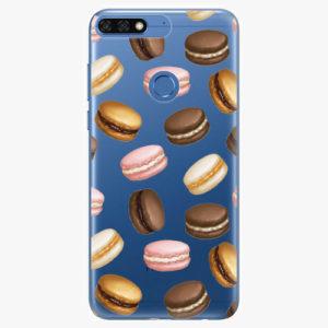 Silikonové pouzdro iSaprio - Macaron Pattern - Huawei Honor 7C