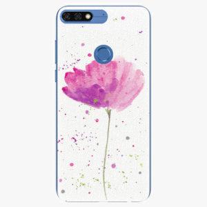 Silikonové pouzdro iSaprio - Poppies - Huawei Honor 7C