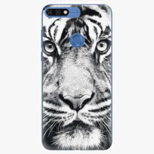 Silikonové pouzdro iSaprio - Tiger Face - Huawei Honor 7C