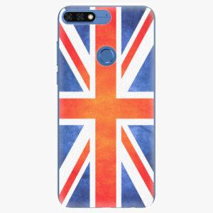 Silikonové pouzdro iSaprio - UK Flag - Huawei Honor 7C