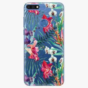 Silikonové pouzdro iSaprio - Flower Pattern 03 - Huawei Honor 7C