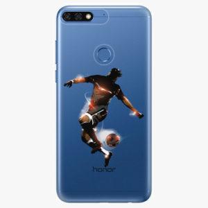 Silikonové pouzdro iSaprio - Fotball 01 - Huawei Honor 7C