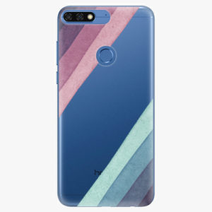 Silikonové pouzdro iSaprio - Glitter Stripes 01 - Huawei Honor 7C